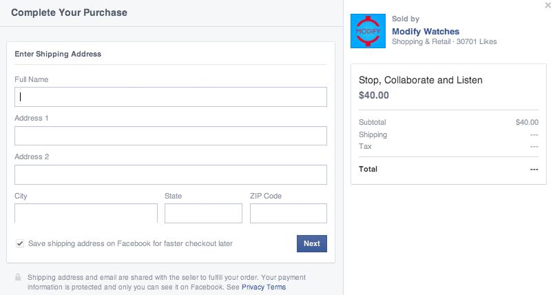 Kupování věcí přes Facebook? To už je blízká budoucnost