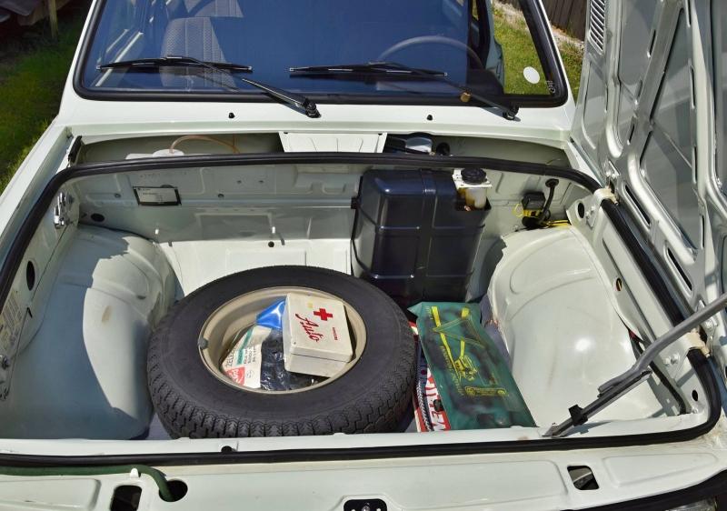 Škoda 105 S s pôvodnou výbavou