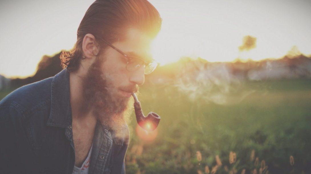 sunset-hipster-pipe-smoke