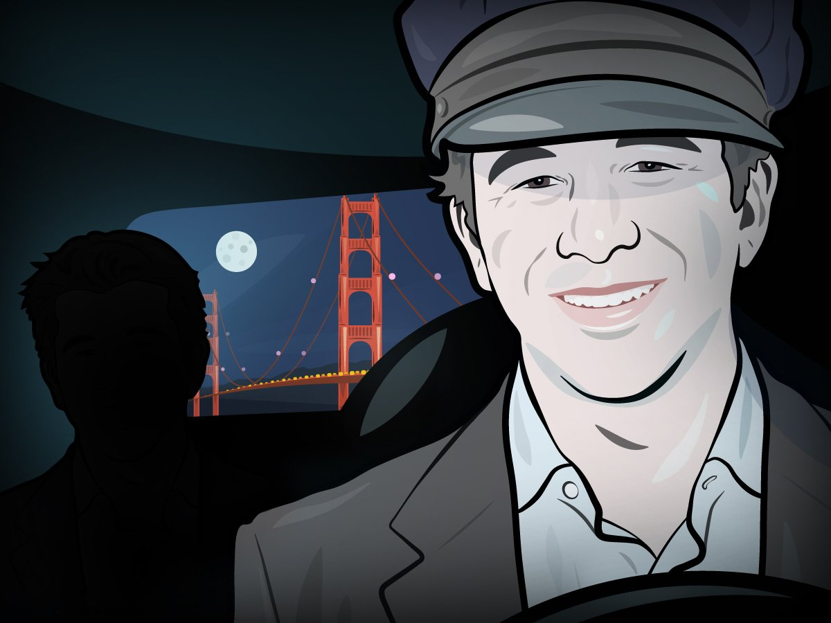 Uber CEO Travis Kalanick only gets around using Uber. He's also been known to moonlight as an Uber driver.