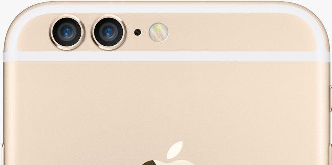 Návrh rozloženia dvoch fotoaparátov na Iphone 6
