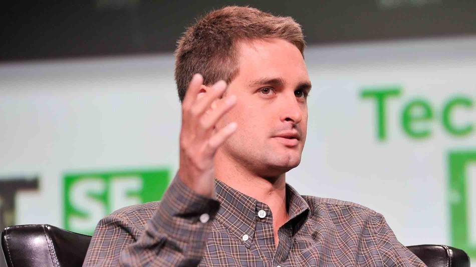 Evan Spiegel CEO Snapchatu