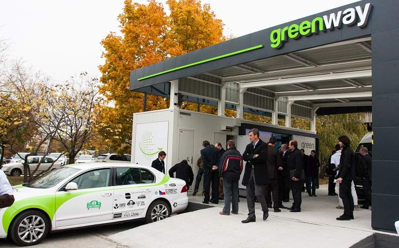 GreenWay_EV_Battery_Swap_Service_Station_Slovakia