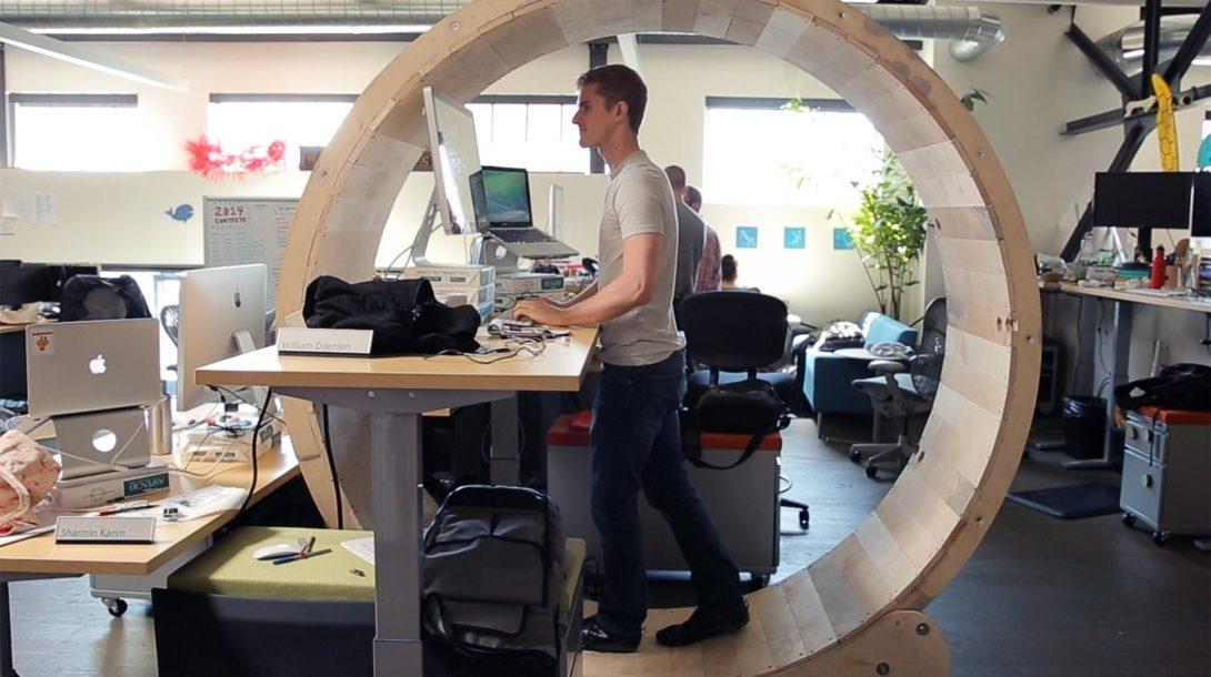 hamster-wheel-desk