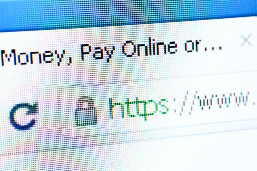 SSL protected website