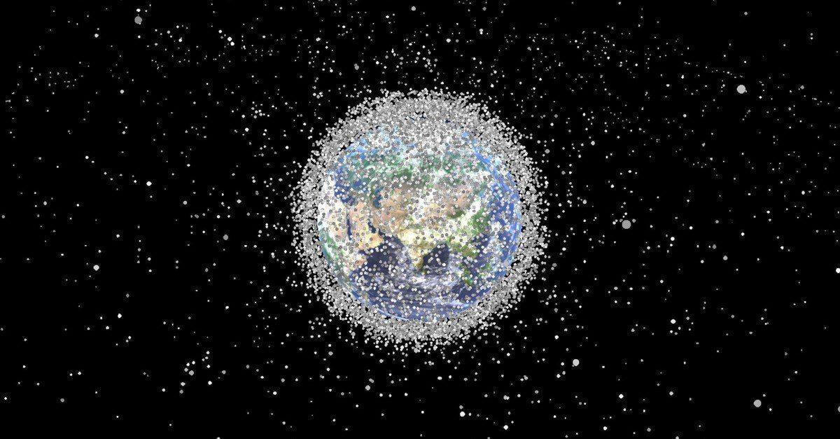 nasa orbital debris - HD1920×1080