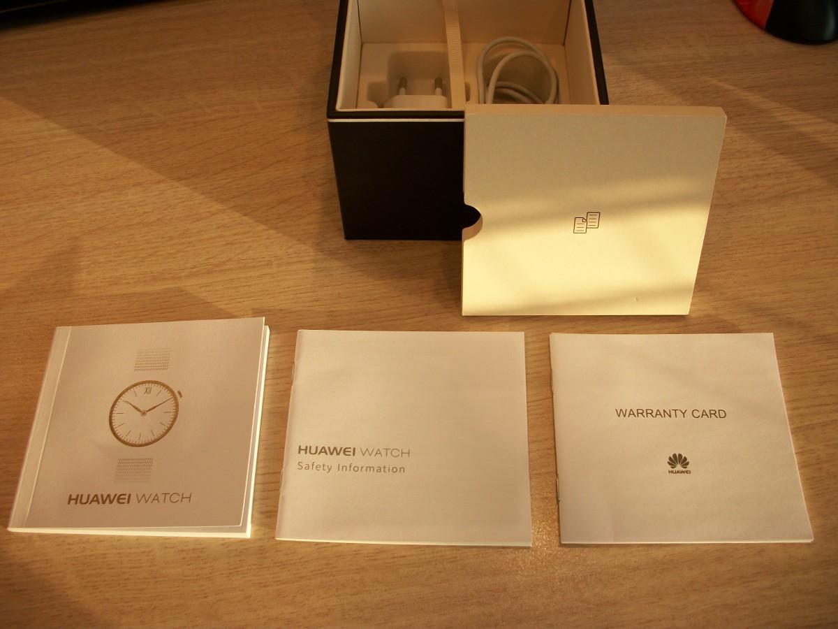Huawei Watch guide