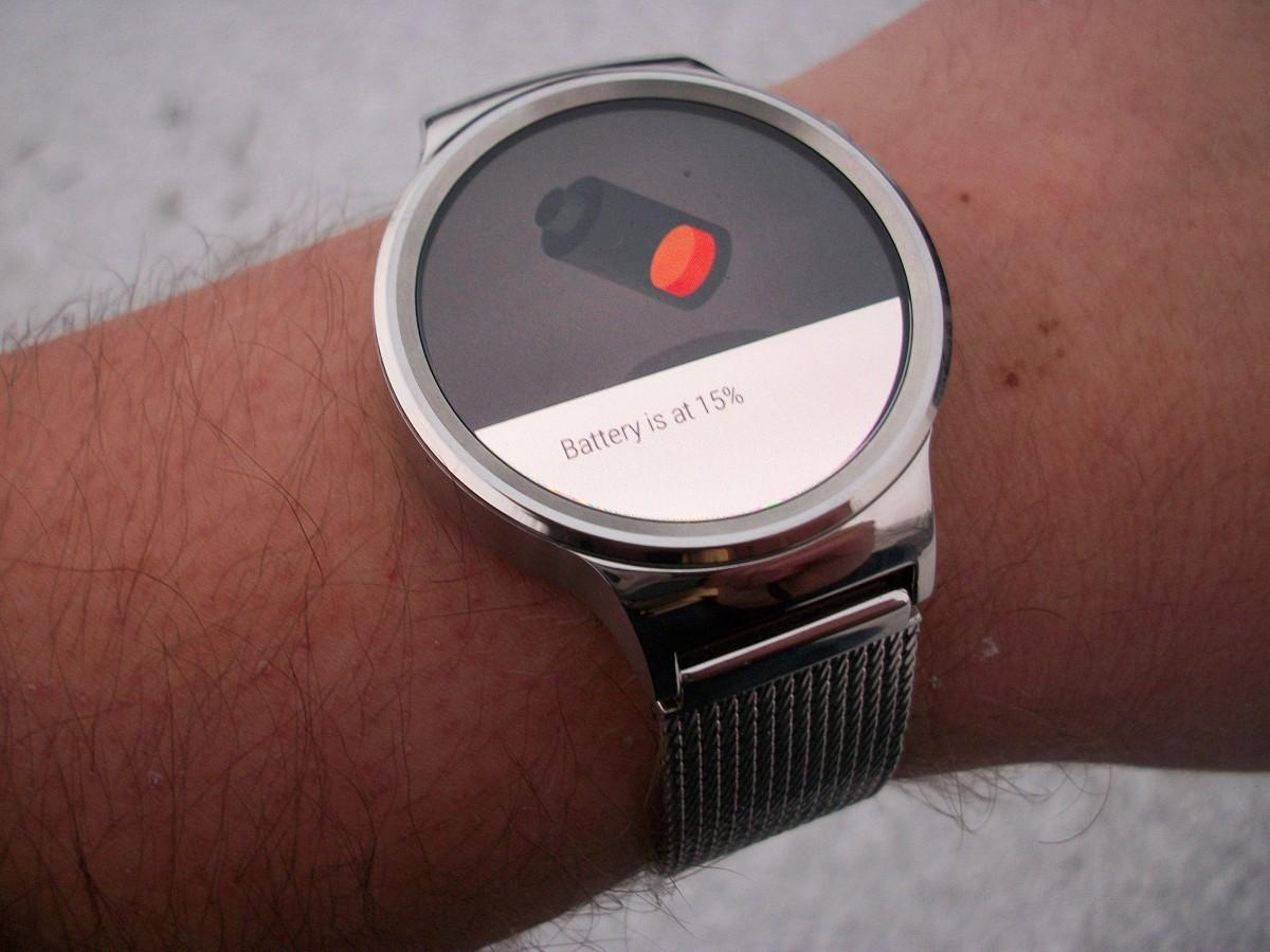 Huawei Watch battery