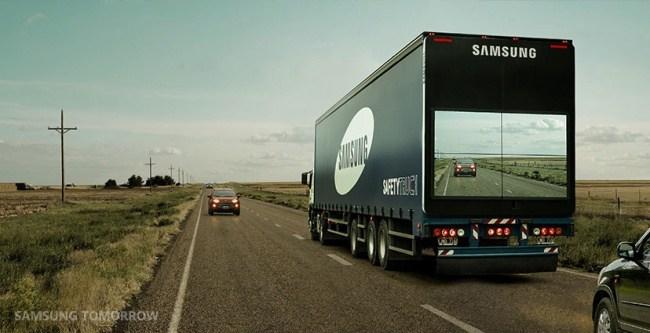 Kamión Samsung