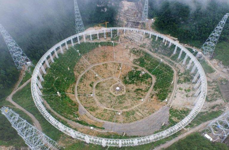 Satelit v Číne