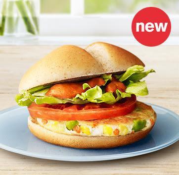 Kuracio zeleninový burger