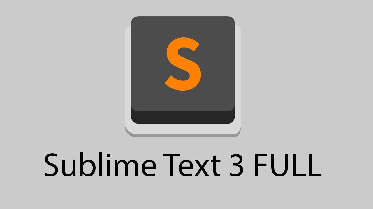 Logo sublime 3