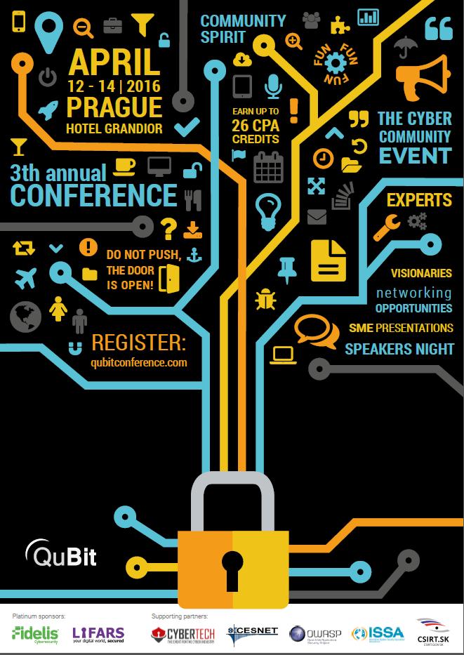 QuBit Conf poster