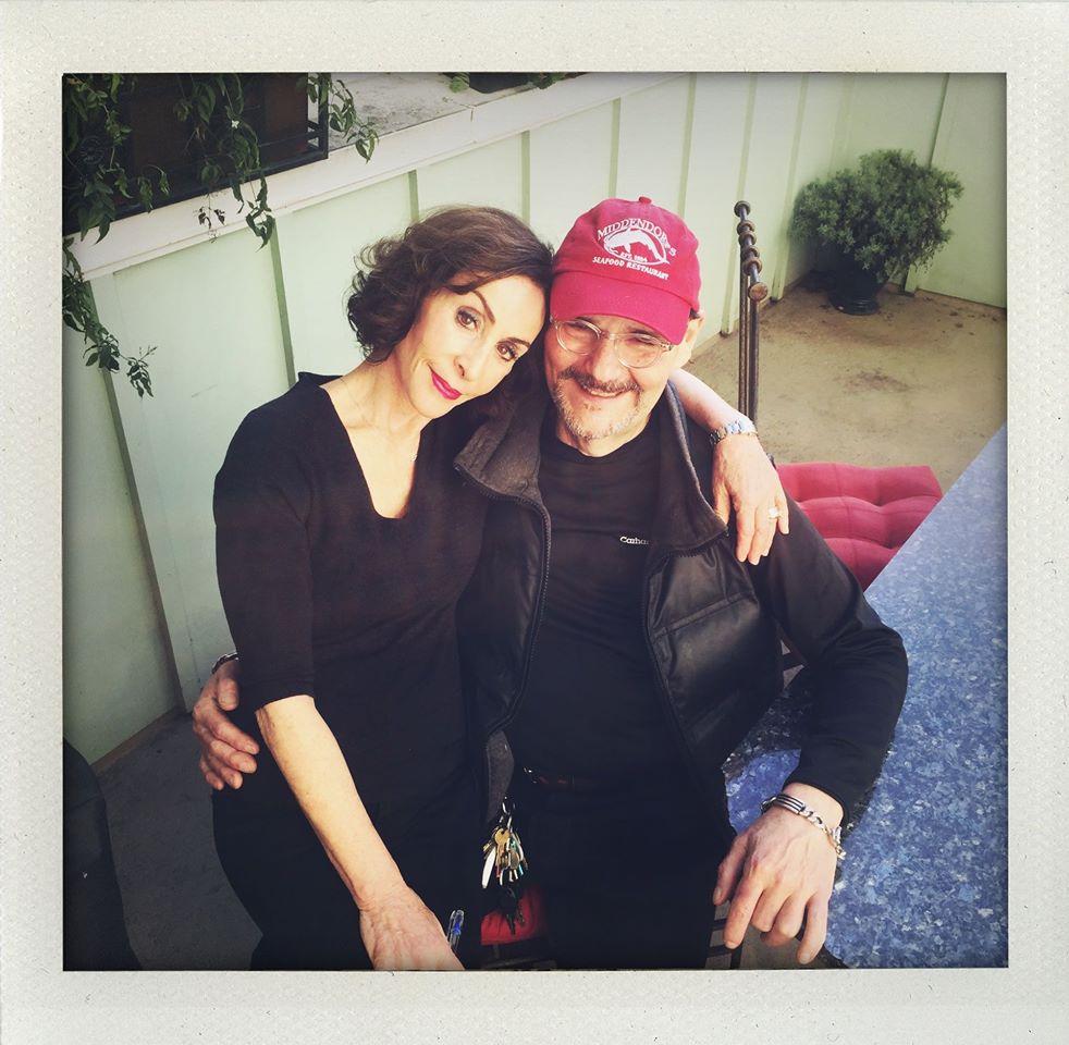 Chris so ženou