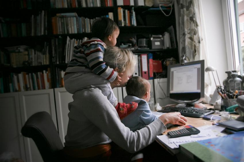 Keď máš deti, ale musíš robiť :)