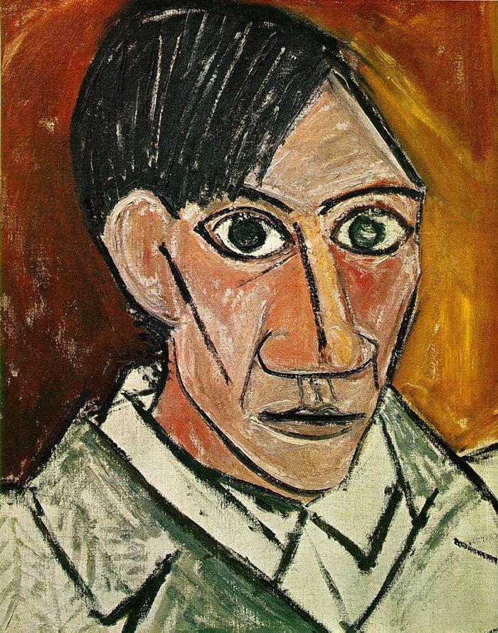 pablo-picasso-self-portraits-chronology-2