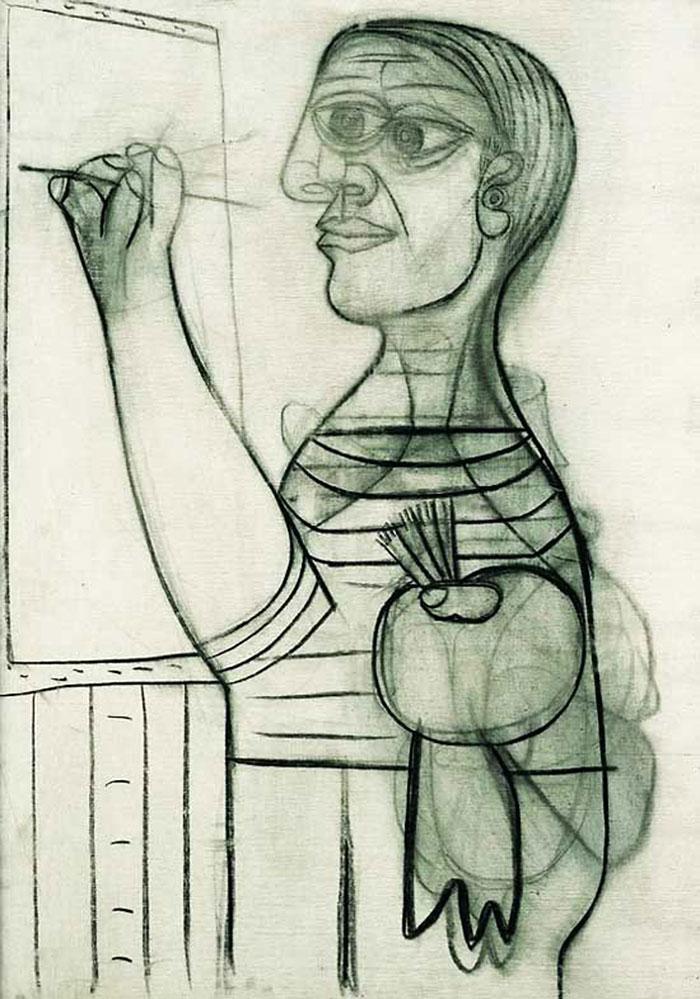 pablo-picasso-self-portraits-chronology-22