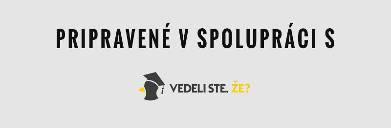 Pripravené v spolupráci s Vedelisteze.sk