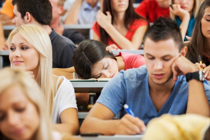 sleep-in-class