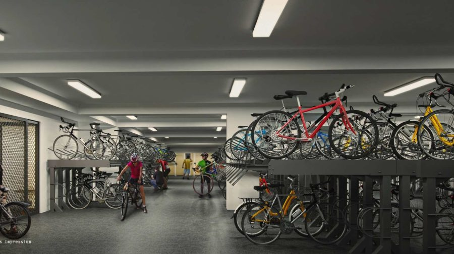 B7-Secured-Covered-Bike-Garage-Westwood-Residences