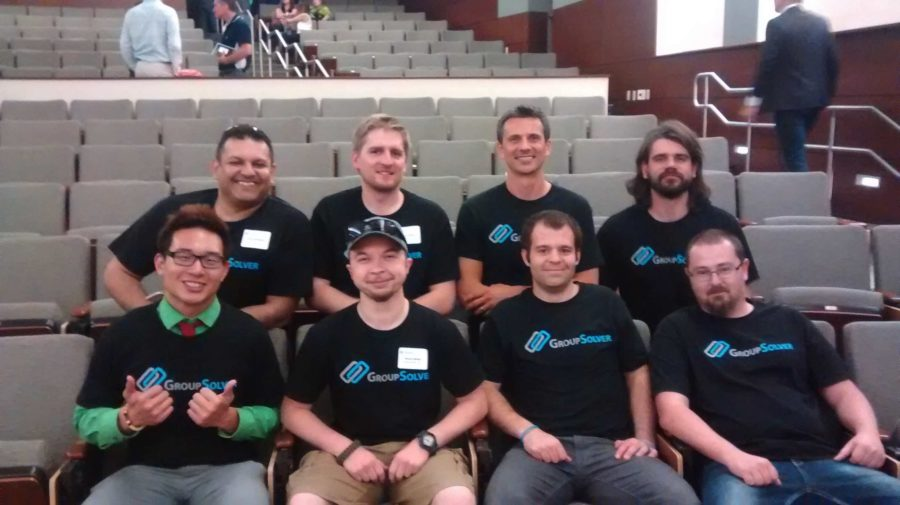 GroupSolver_team_together_at_EvoDemoDay