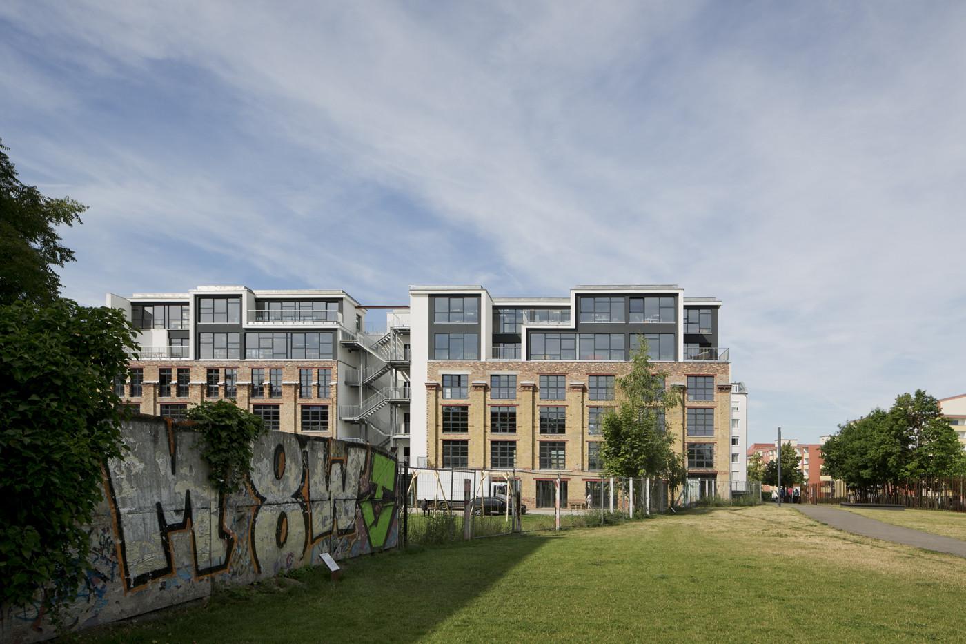 DEU, Berlin, 06/2014, Bürogebaeude Factory, Architekt: Julian Breinersdorfer, Bildtechnik: Digital-KB