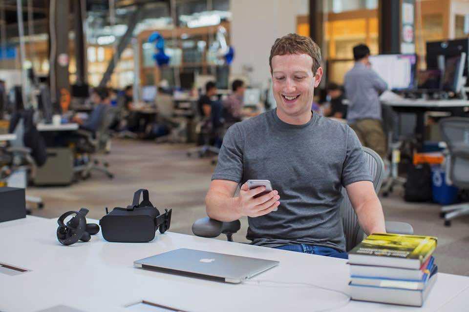Mark Zuckerberg, zakladateľ Facebooku