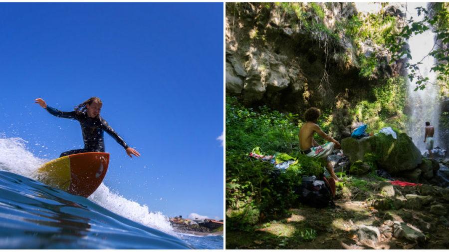 collage surf