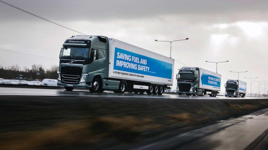 Volvo Trucks, platooning