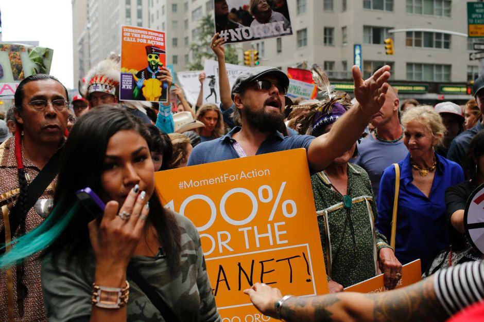 protest proti globalnemu oteplovaniu