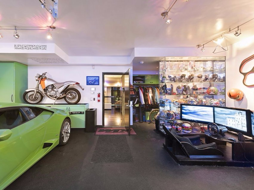 he-stores-his-car-and-entire-motorcycle-collection-in-the-condos-garage