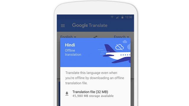 Google-translate-offline-mode-package