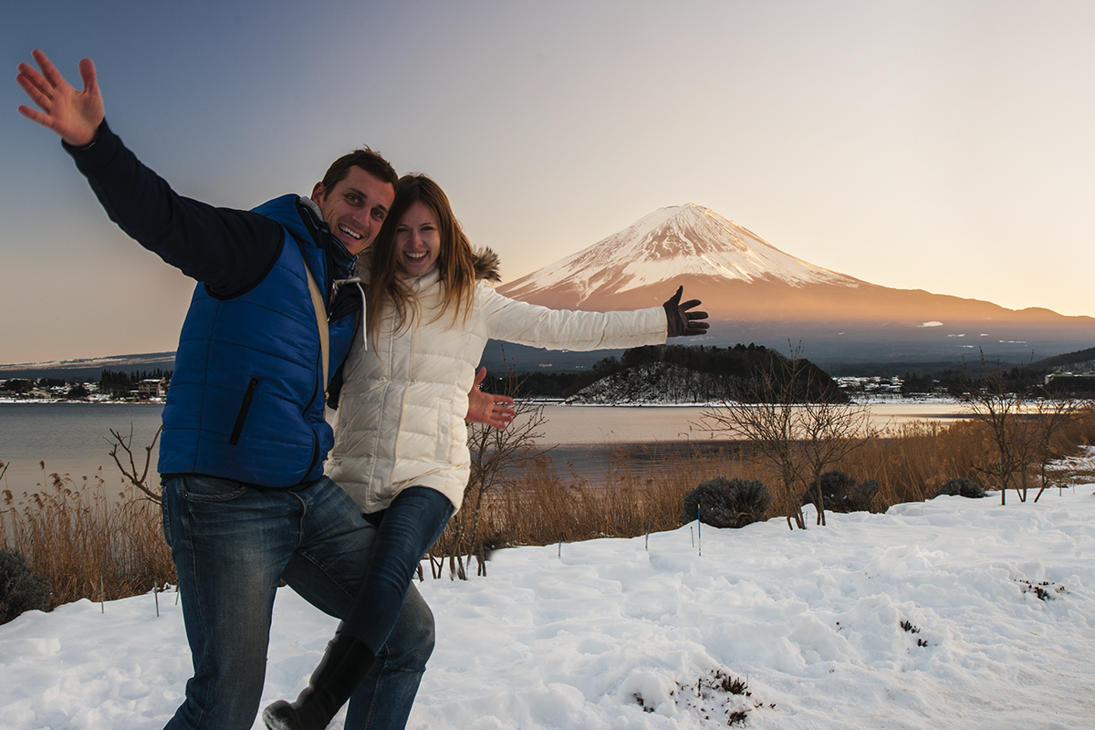 Hora Fuji Japonsko