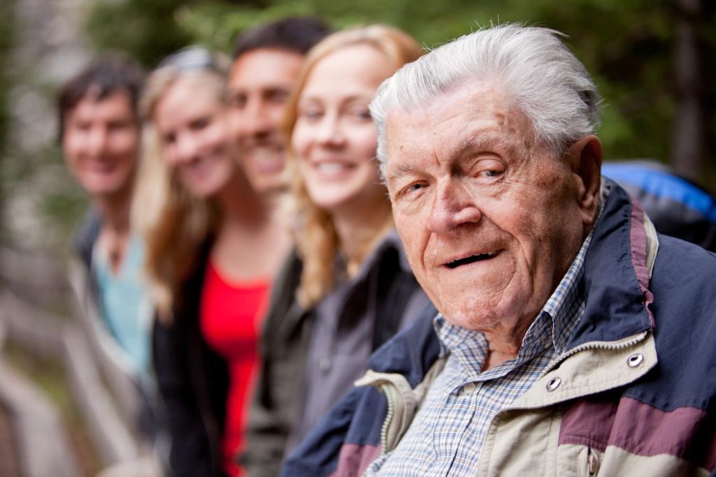 Grandfather Portrait