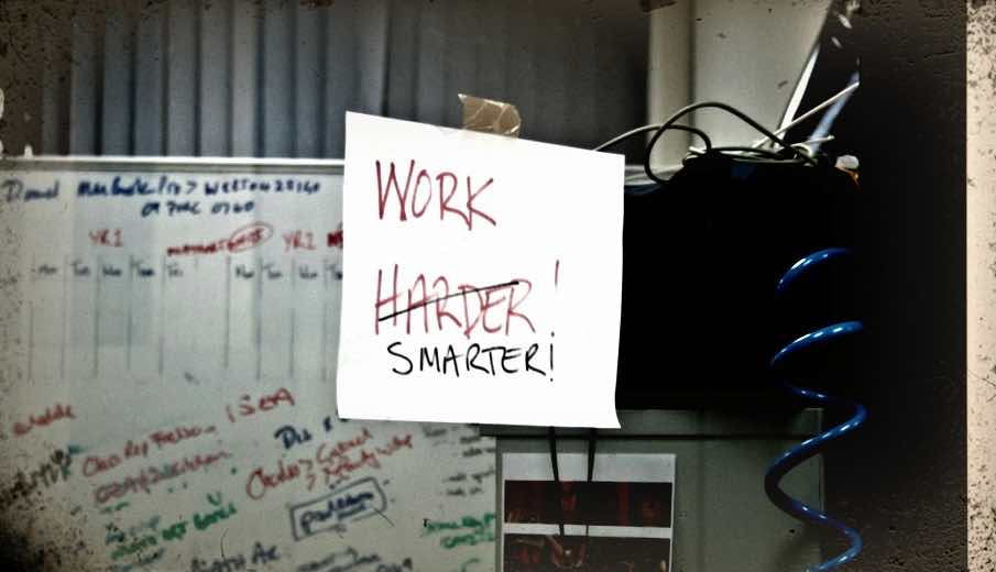 Work-harder-not-smarter