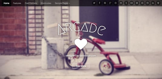 Free WordPress themes - Arcade