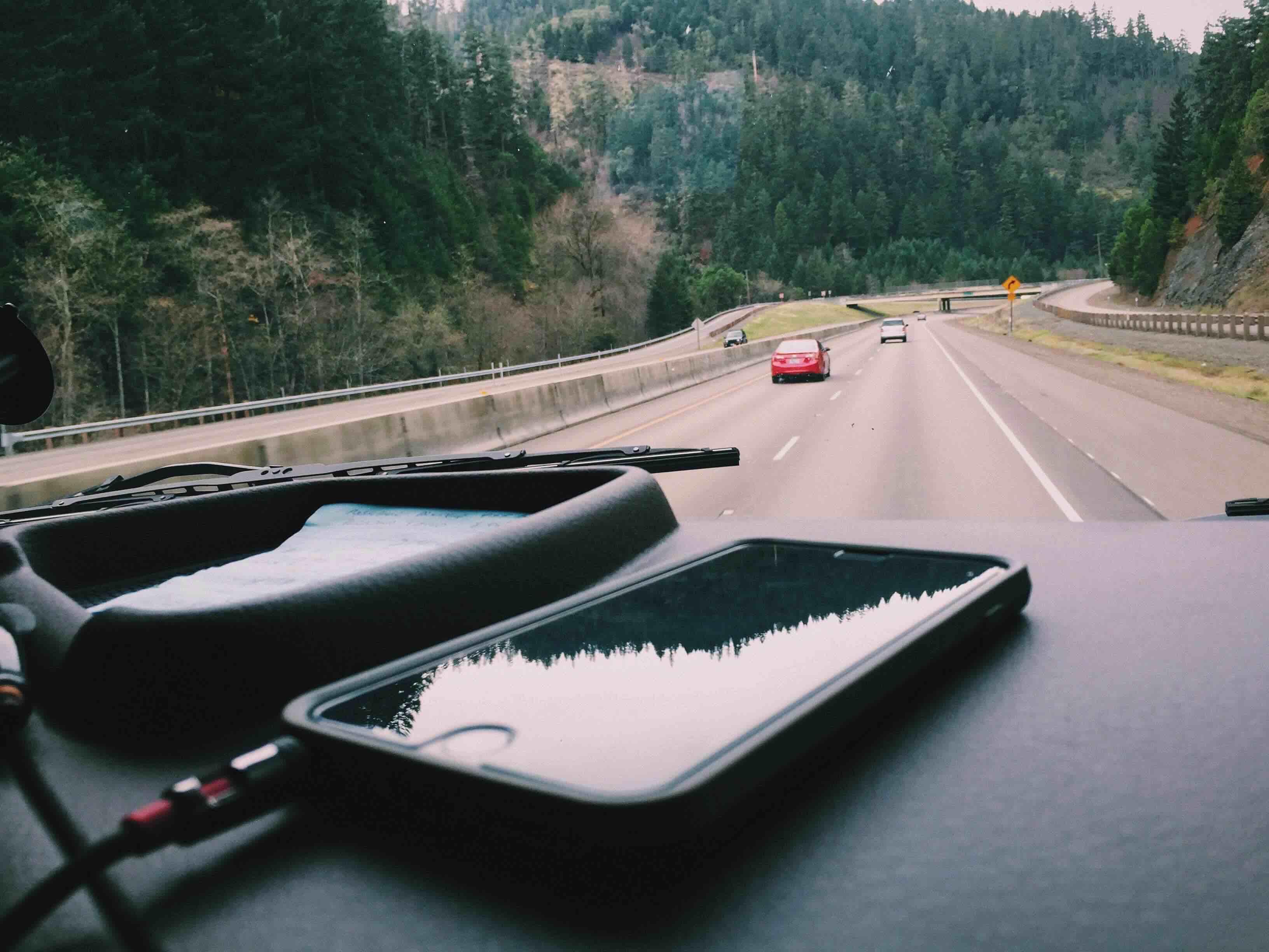 light-road-nature-iphone