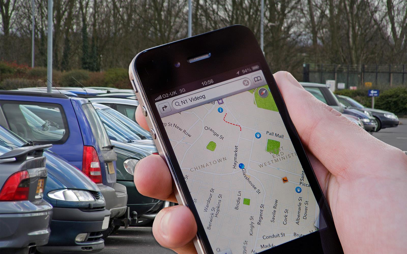 iPad And iPhone Location - London