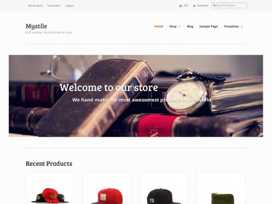 Free WordPress themes - Mystile