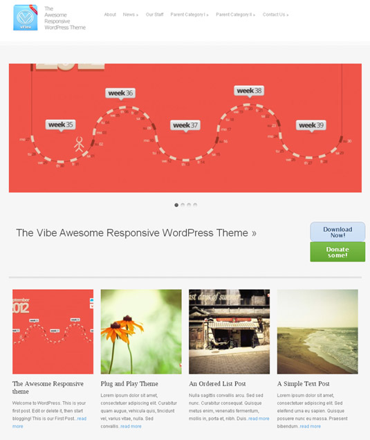 Free WordPress themes - vFlex