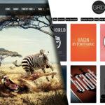 33 najlepších free WordPress tém