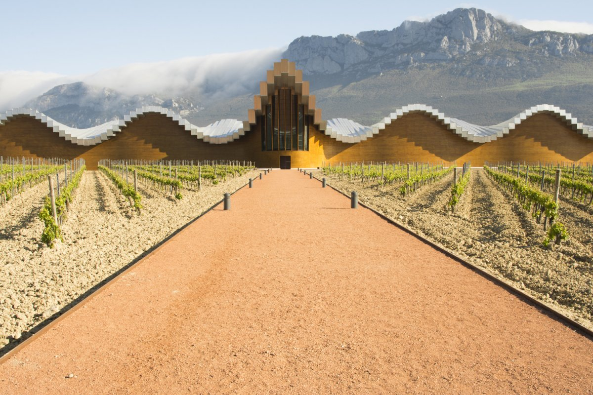 10-the-undulating-concrete-roof-of-bodegas-ysios-a-winery-in-spains-rioja-alavesa-is-used-to-produce-the-regions-iconic-wine