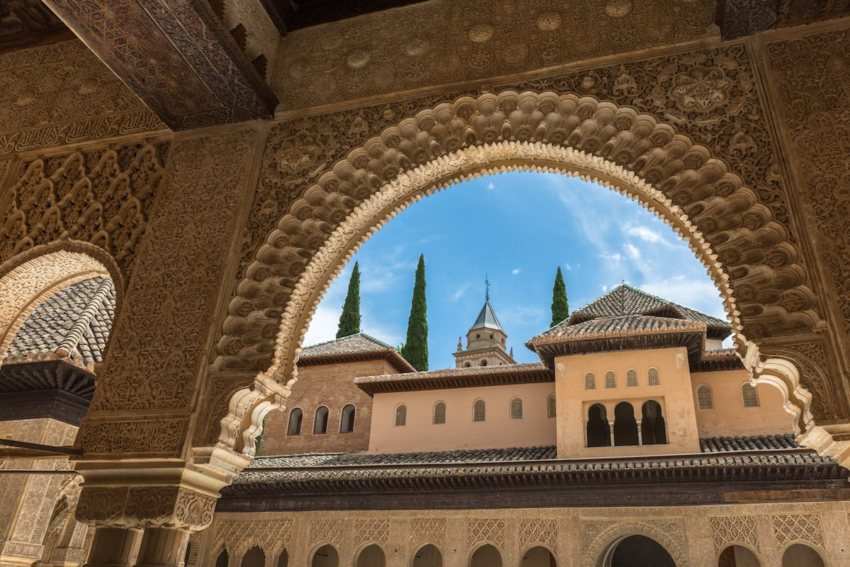 38-its-not-hard-to-see-what-makes-alhambra--a-historic-palacefort-in-granada-spain-thats-an-ode-to-the-countrys-moorish-past-a-world-heritage-site