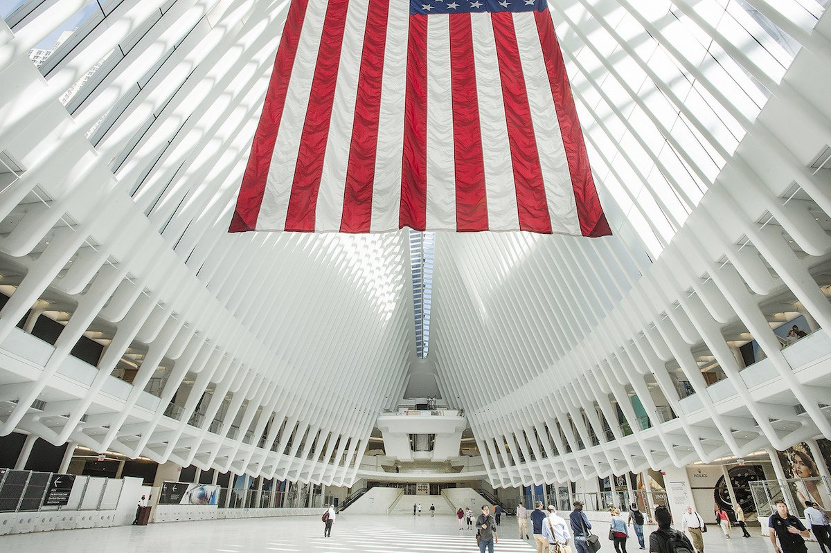 53-look-up-inside-new-york-citys-new-world-trade-center-path-station-for-a-phenomenal-view-of-the-steel-and-concrete-structure-created-by-architect-santiago-calatrava
