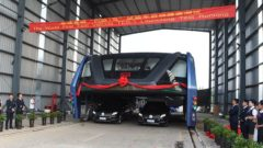 transit-elevated-bus-first-test-ride-qinhuangdao-china-2