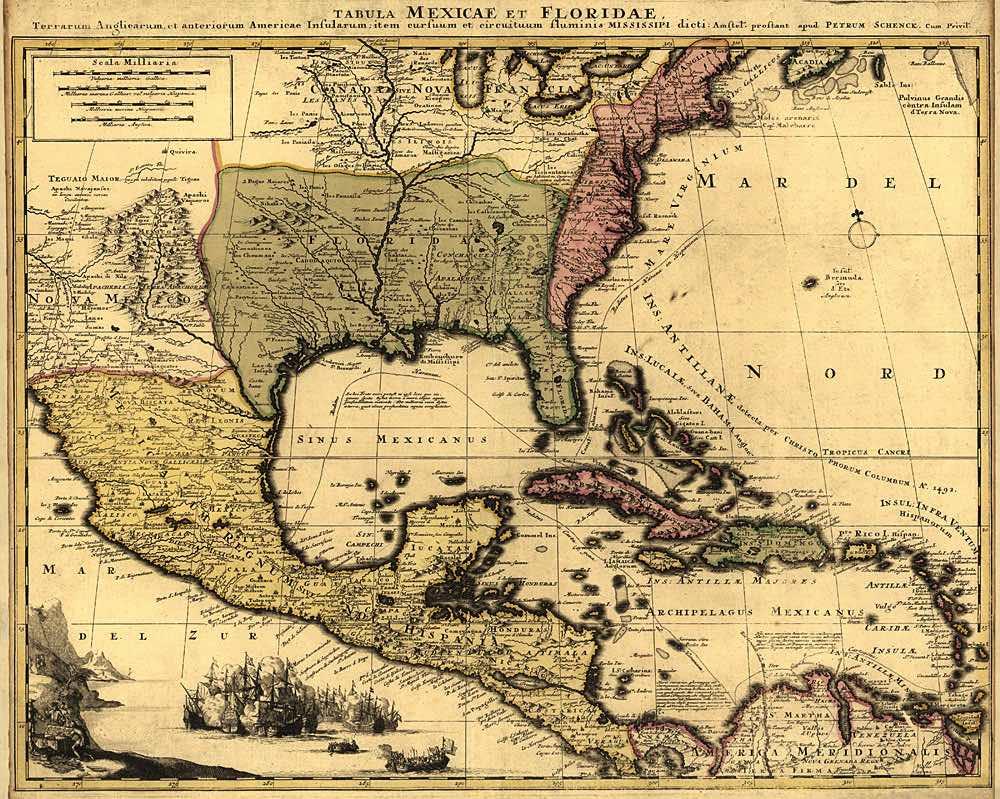 Caribbean-antique-vintage-map-1807