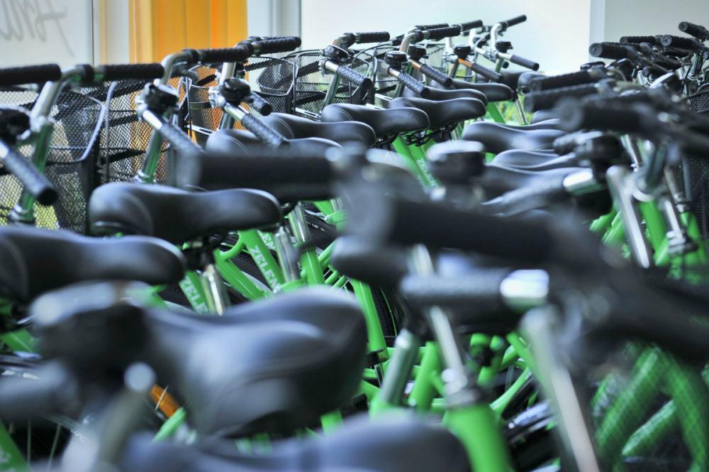 Zelene_bicykle_v_Prievidzi