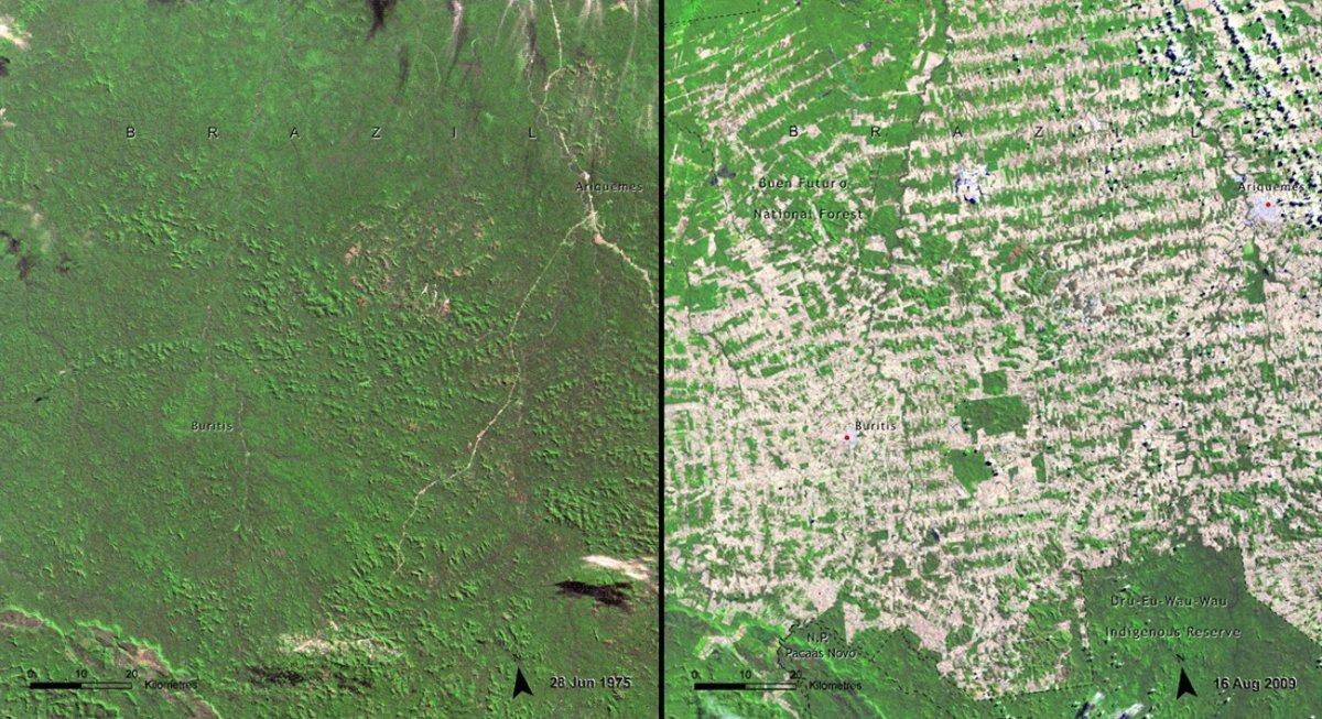deforestation-in-rondonia-brazil-1975-vs-2009