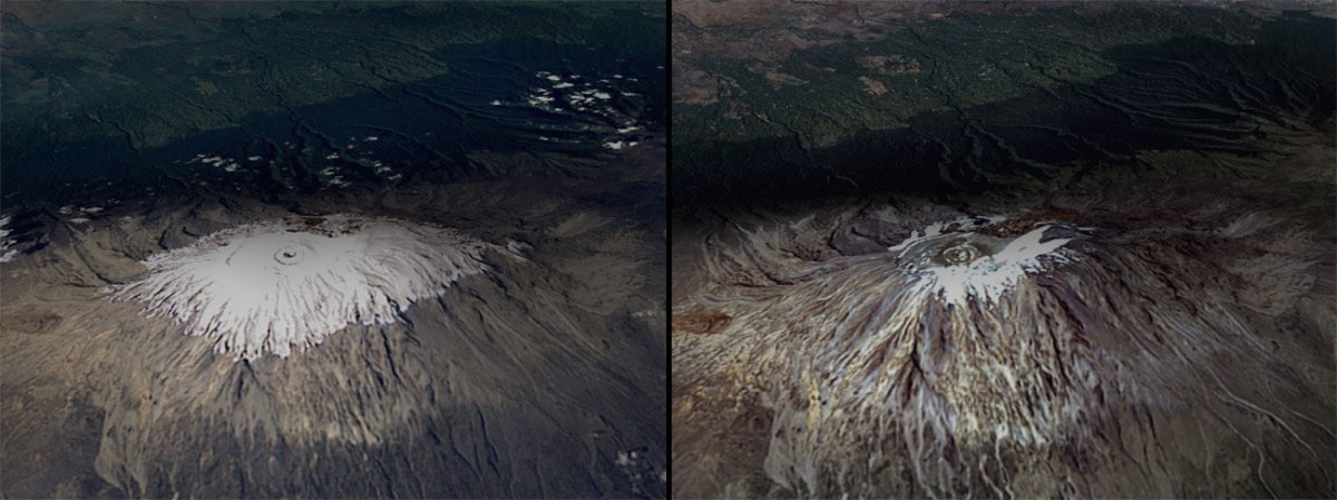 melting-snow-on-mount-kilimanjaro-tanzania-feb-1993-vs-feb-2000