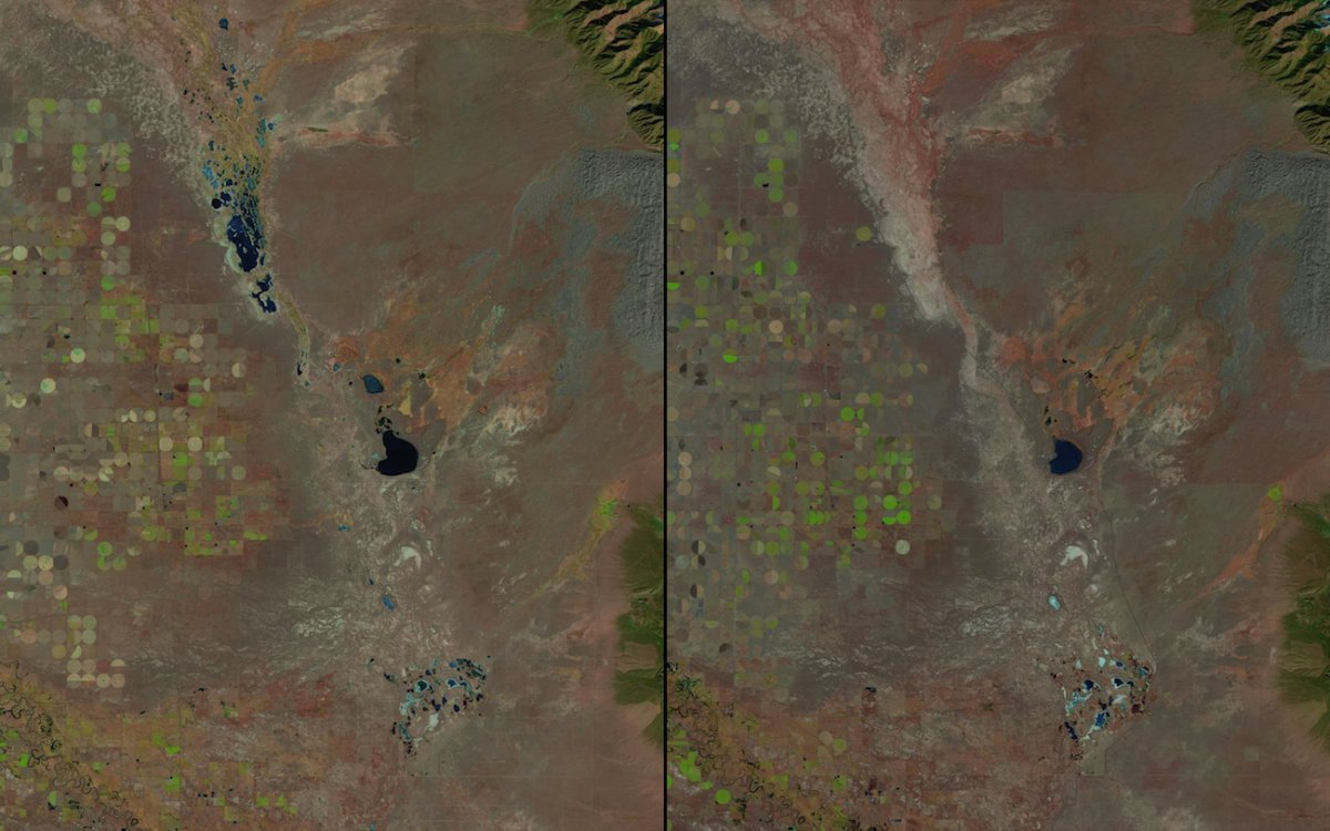 shrinking-lakes-in-great-sand-dunes-national-park-colorado-1987-vs-2011